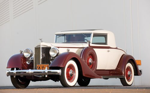 342: 1934 Packard Eight Coupe