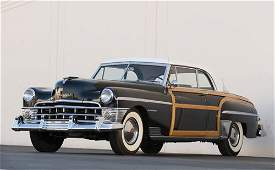 376 1950 Chrysler Town  Country Newport Coupe