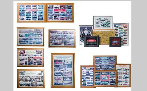 1001: Assorted Automotive Posters