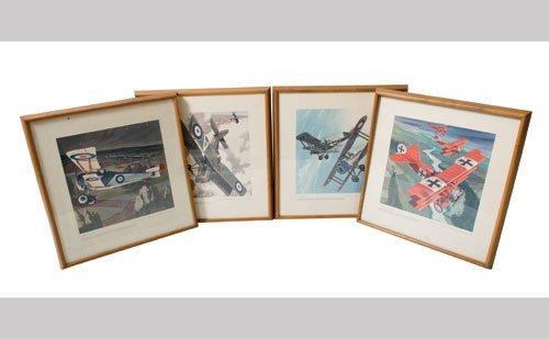 1002: Fighter Plane Framed Photos