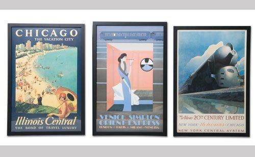 1004: Vintage Travel Posters