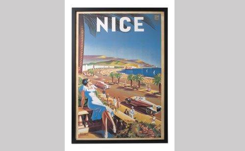 1005: Vintage Travel Poster