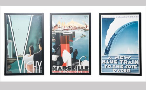 1006: Vintage Travel Posters