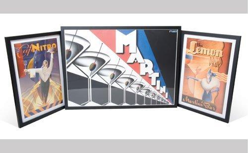1007: Martini Framed Prints