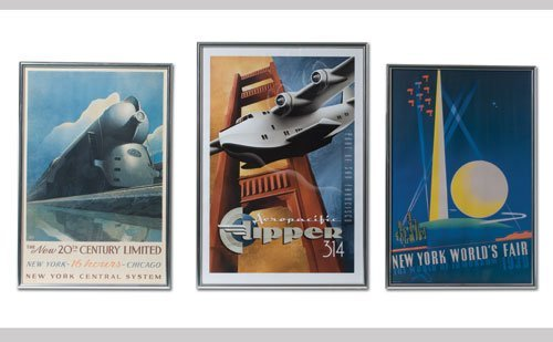 1009: Vintage Travel Posters