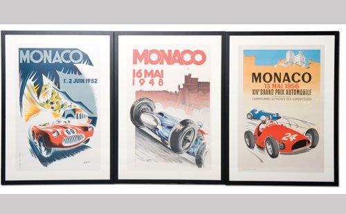 1010: Monaco Grand Prix Posters