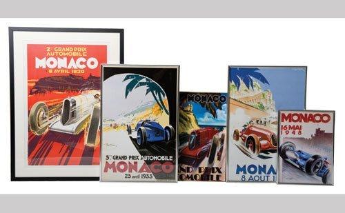 1011: Vintage Racing Posters