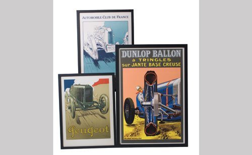 1012: French Automotive Posters