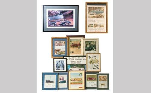 1013: Automotive Print and Vintage Advertisements