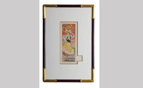 1022: Frossard's Cavour Cigar Lithograph