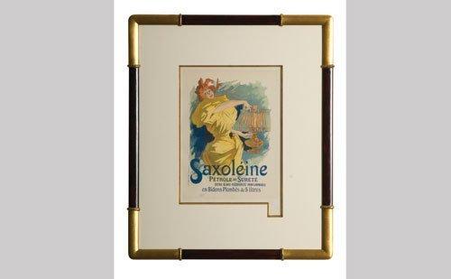 1024: Saxoleine Petrole Lithograph
