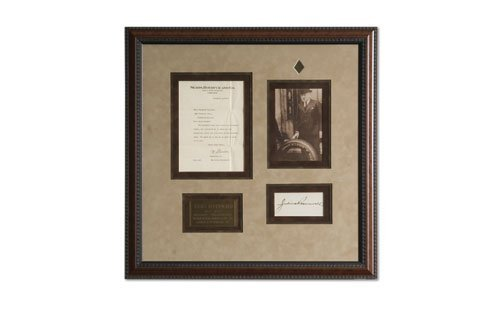 2008: Julius Rosenwald Autograph and Letter Display
