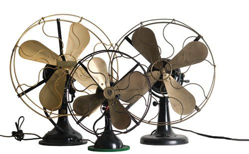 2011: Antique Desk Fans