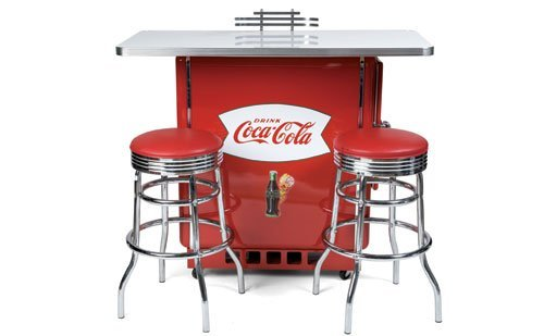 2013: Coca-Cola Cooler Bar Set