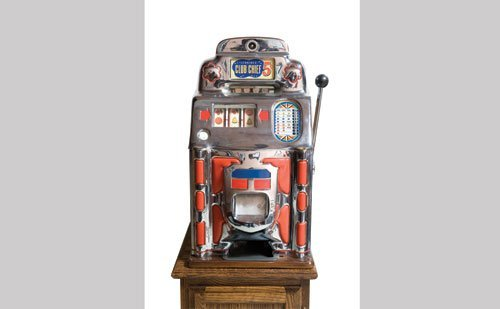 2022: Jennings Super Deluxe Club Chief Slot Machine