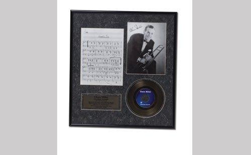 3005: Glenn Miller 24K Gold Plated Record