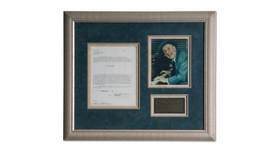 3008: Jimmy Durante Signed Document Display