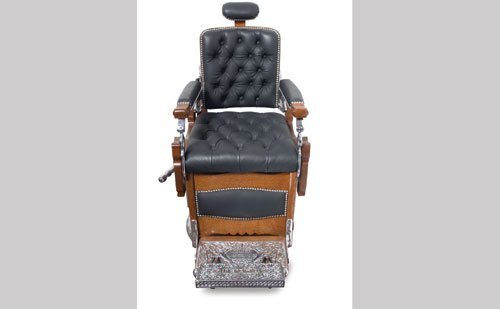 3017: Koken Barber Chair