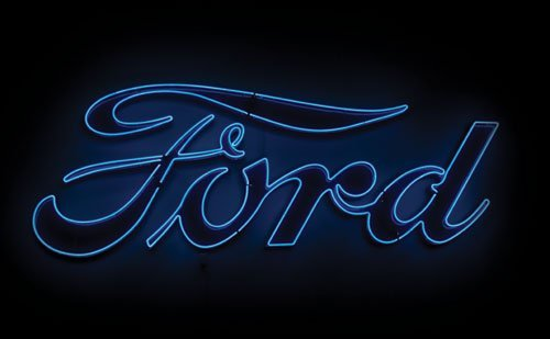 3085: Ford Neon Sign