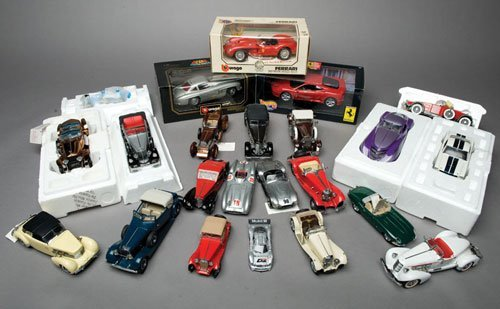 116: Assorted Model Cars