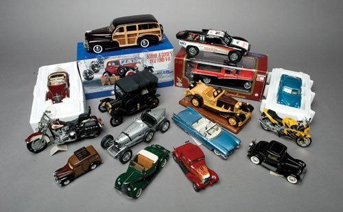 118: Assorted Model Cars