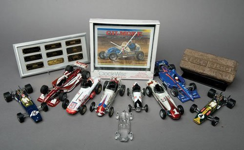 119: Indianapolis Motor Speedway Brick and Model Cars