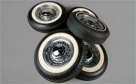 160: 1950s Chrysler/Desoto Wire Wheels