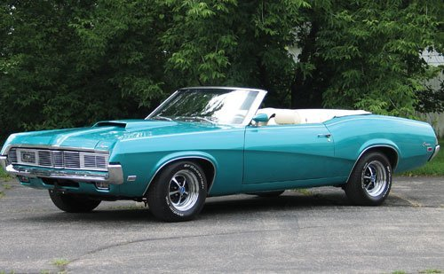 202: 1969 Mercury Cougar Convertible