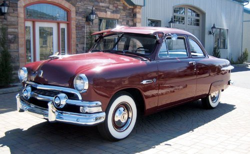 207: 1951 Ford Deluxe Business Coupe