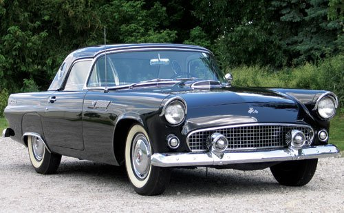 208: 1955 Ford Thunderbird