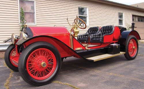209: 1915 Stutz Bearcat Replica