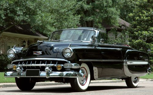 215: 1954 Chevrolet Bel Air Convertible