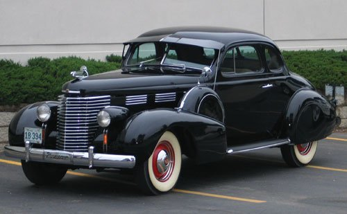 220: 1938 Cadillac Series 60 Opera Coupe