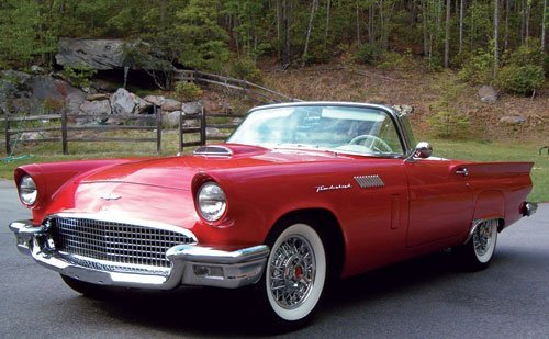 222: 1957 Ford Thunderbird