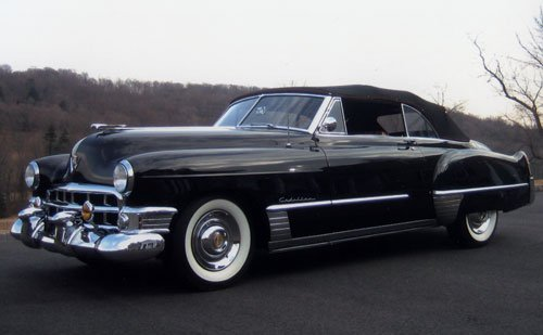 224: 1949 Cadillac Series 62 Convertible Coupe