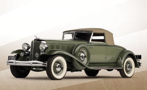 240: 1932 Chrysler CL Imperial Convertible Roadster by