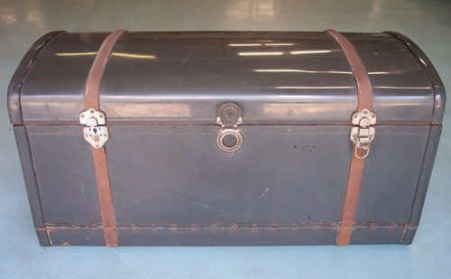 102: 1930s Packard Trunk With Fitted Luggage