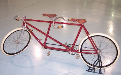 104: 1899 Pierce Arrow Tandem Bicycle