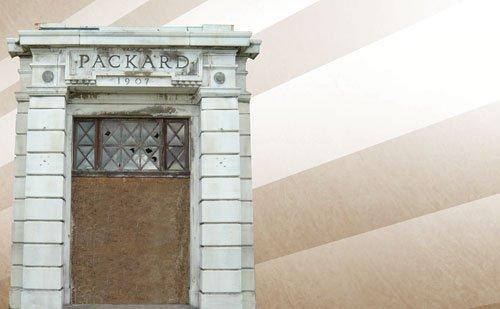 105: 1907 Packard Motor Co. Stone Entranceway