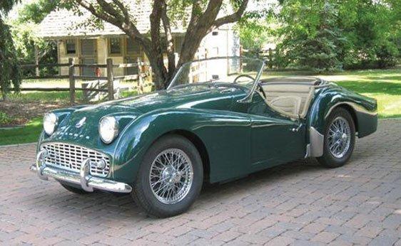 106: 1958 Triumph TR3A