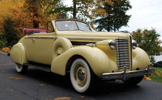 108: 1938 Buick Special Convertible
