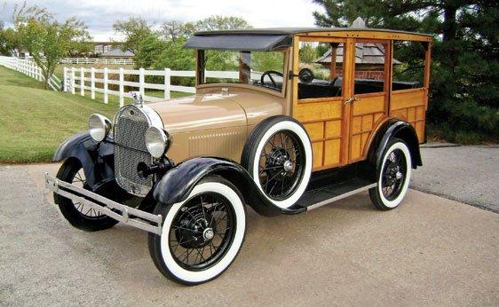 111: 1929 Ford Model 150-A Station Wagon