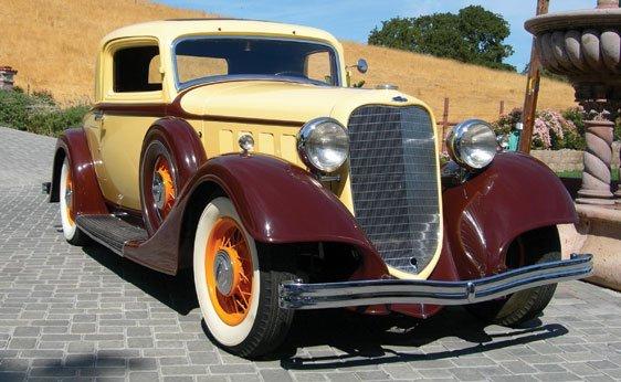 112: 1934 Lincoln KA 2/4-Passenger Two-Door Coupe