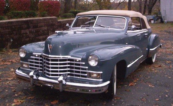 113: 1946 Cadillac Series 62 Convertible Coupe