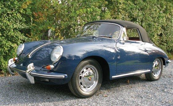 121: 1964 Porsche 356C Cabriolet