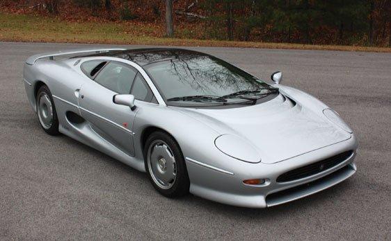 123: 1992 Jaguar XJ220