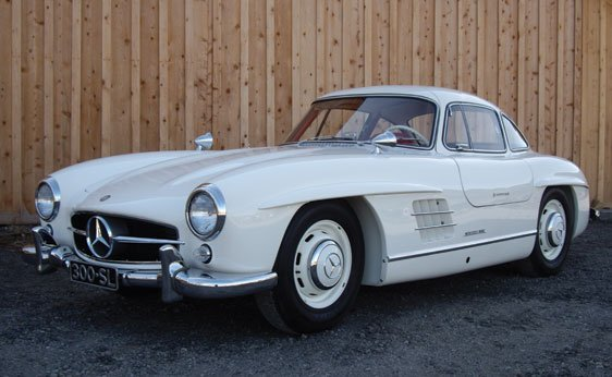 128: 1955 Mercedes-Benz 300SL Coupe