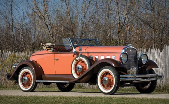 142: 1931 Hudson Greater Eight Boat-Tailed Sport Roadst