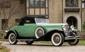 152: 1929 Duesenberg Model J Convertible Coupe