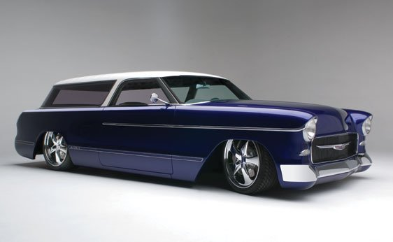 """201: 1955 Chevrolet """"Newmad"""""""